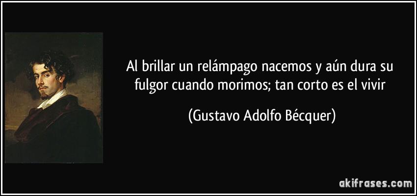 Gustavo Adolfo BecQuer temas