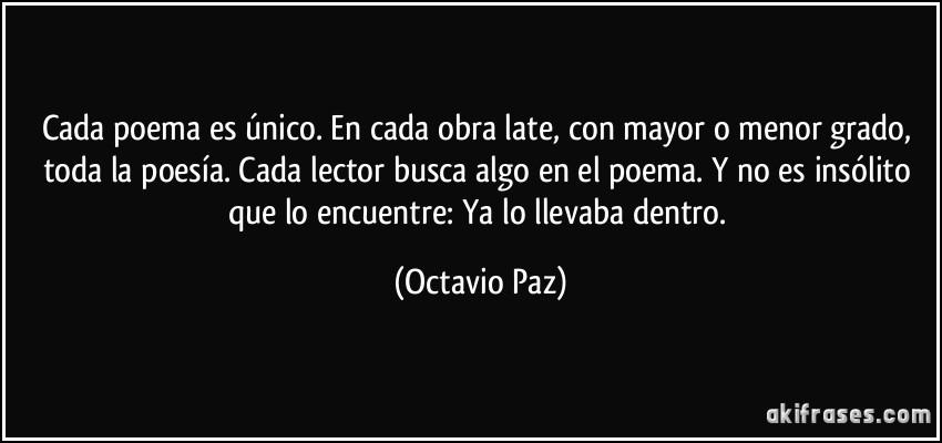 Frases De Paz: 1000+ Images About Octavio Paz: «La Libertad No Necesita
