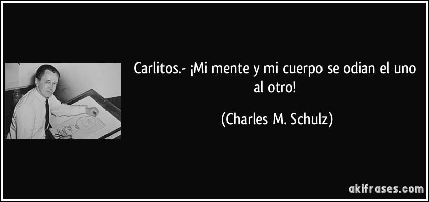 Resultado de imagen para Charles M. Schulz frases