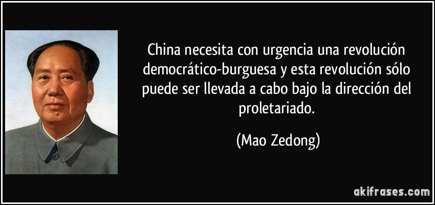 China Necesita Con Urgencia Una Revolución