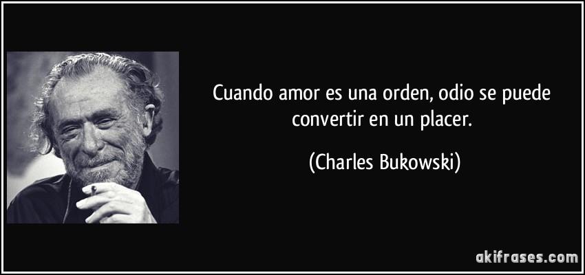 Cuando amor es una orden odio se puede convertir en un placer - Cuando se puede banar a un cachorro ...