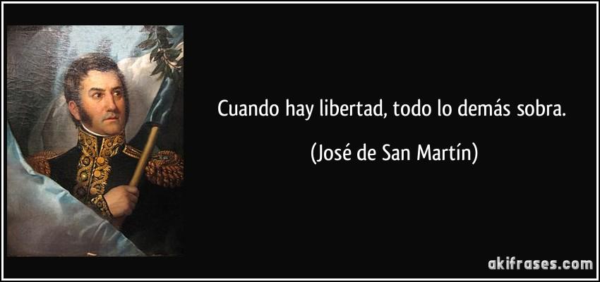 frase libertad: