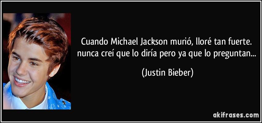 Cuando michael jackson muri llor tan fuerte nunca cre for En que ano murio michael jackson