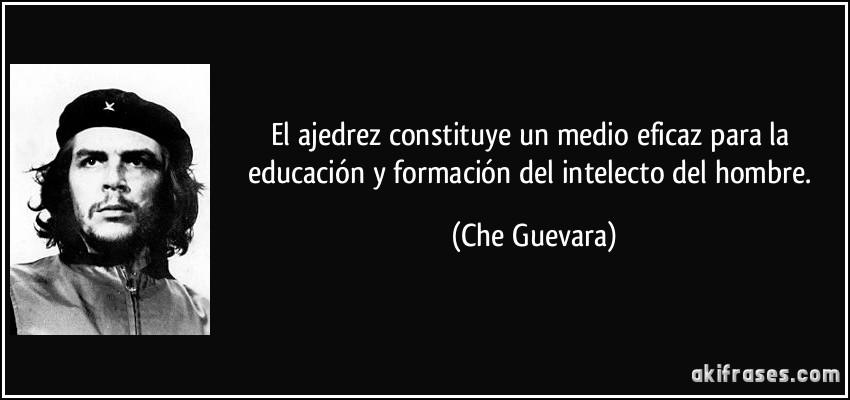 El Ajedrez Constituye Un Medio Eficaz Para La Educación Y