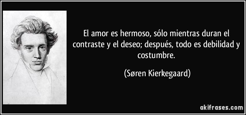 El Amor Es Hermoso Solo Mientras Duran El Contraste Y El