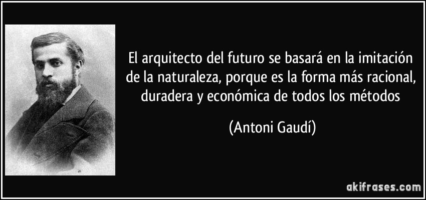 El arquitecto del futuro se basar en la imitaci n de la for Todo para el arquitecto