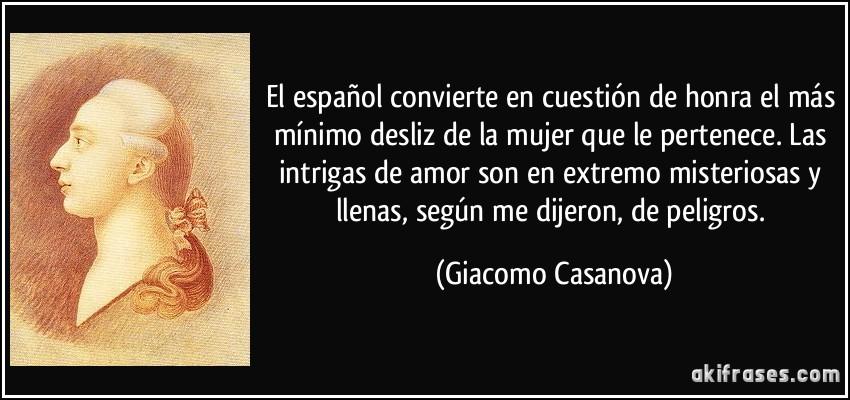 El Español Convierte En Cuestión De Honra El Más Mínimo