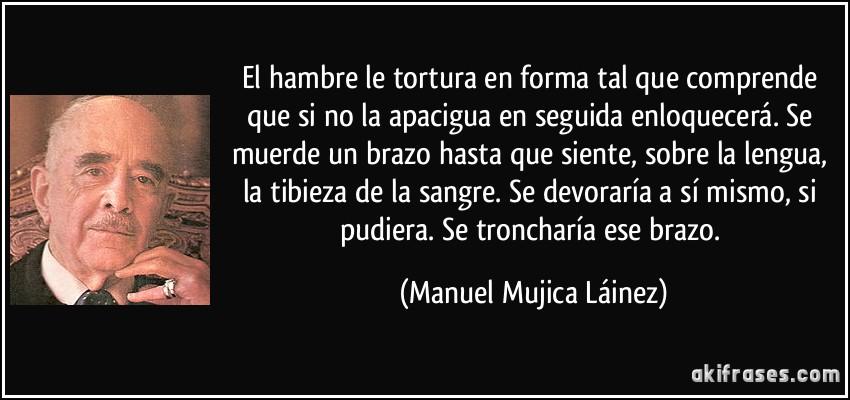 El hambre de Manuel Mujica Lainez (Resumen)