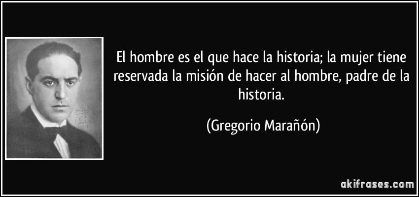 el hombre hace historia: