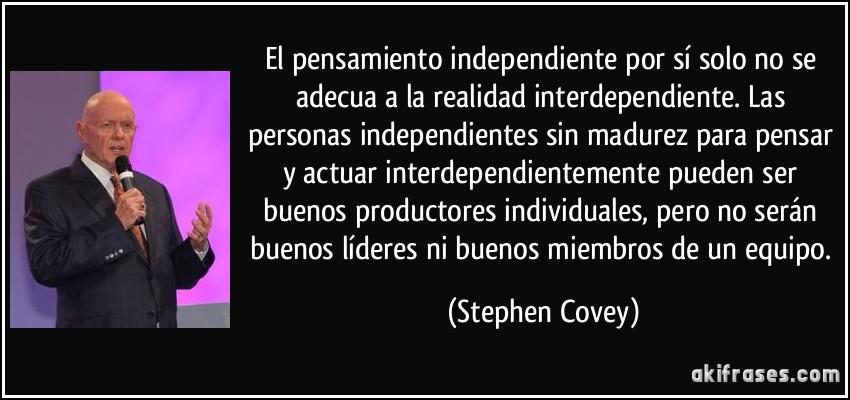 22 frases célebres de Stephen Covey ~ Emprendo Venezuela