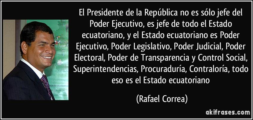 El Presidente De La República No Es Sólo Jefe Del Poder