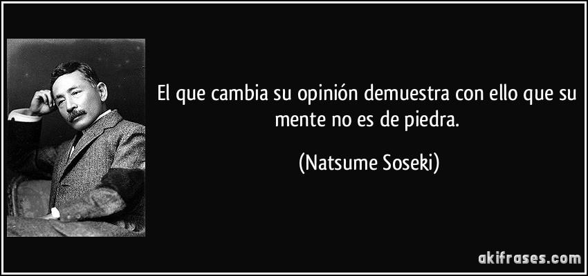 Natsume Soseki frases