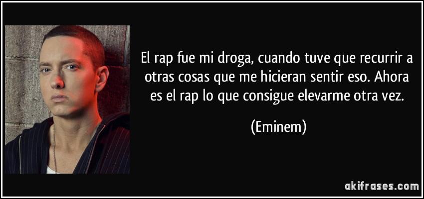 El Rap Fue Mi Droga Cuando Tuve Que Recurrir A Otras Cosas