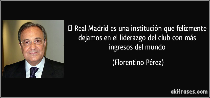 Imagenes y frases del Real Madrid - Imagui