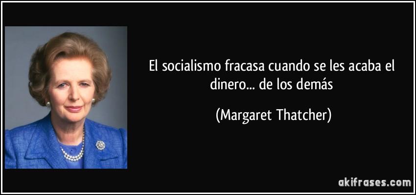 Resultado de imagen para SOCIALISTAS CON LA PLATA DE OTRO