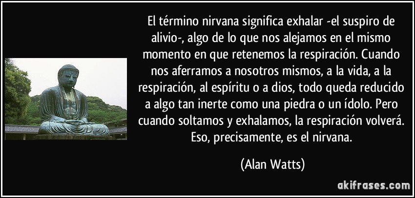 Nirvana is where you are, provided you d by Alan Watts ... Stephen King
