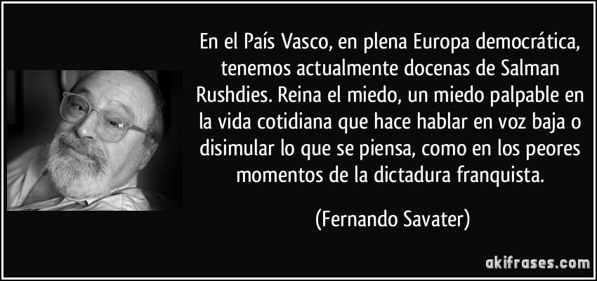 En El País Vasco En Plena Europa Democrática Tenemos