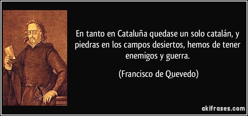 En tanto en catalu a quedase un solo catal n y piedras en - Amor en catalan ...