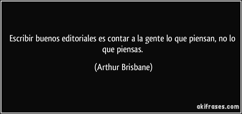 Escribir Buenos Editoriales Es Contar A La Gente Lo Que