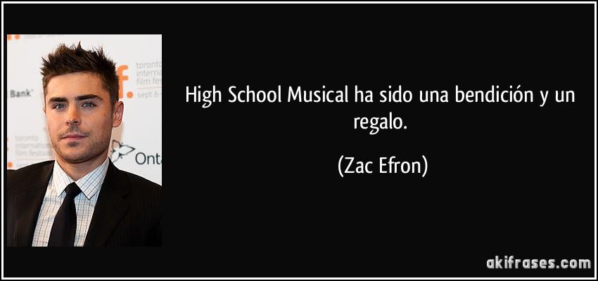High School Musical Ha Sido Una Bendición Y Un Regalo