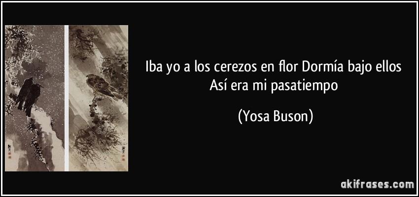 SAKURA- Los cerezos en flor-HAIKU Frase-iba-yo-a-los-cerezos-en-flor-dormia-bajo-ellos-asi-era-mi-pasatiempo-yosa-buson-178579