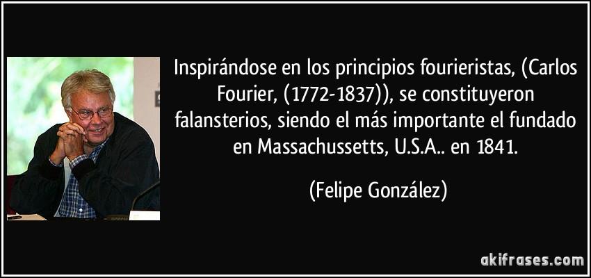 Inspirándose En Los Principios Fourieristas Carlos Fourier
