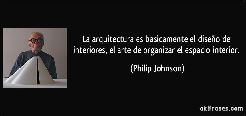 la arquitectura es basicamente el dise o de interiores el