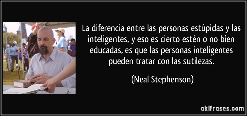 La Diferencia Entre Las Personas Estúpidas Y Las Inteligentes
