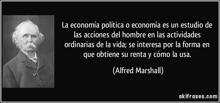 La Economía Política O Economía Es Un Estudio De Las