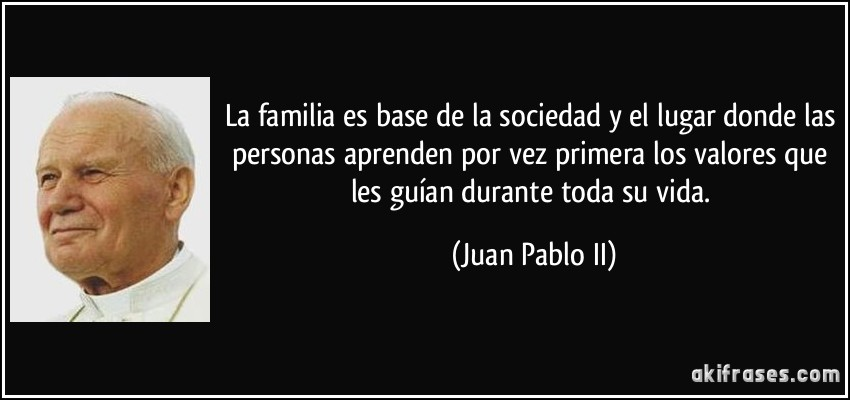 Frases de Juan Pablo II - Proverbia