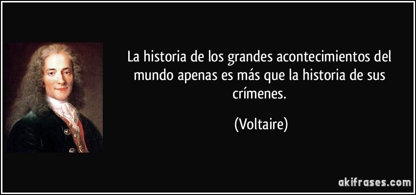 La Historia De Los Grandes Acontecimientos Del Mundo Apenas