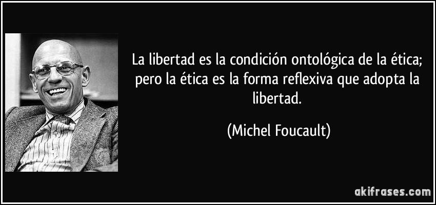 La Libertad Es La Condición Ontológica De La ética Pero La