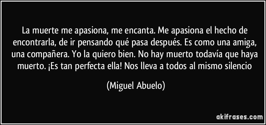 Miguel Abuelo