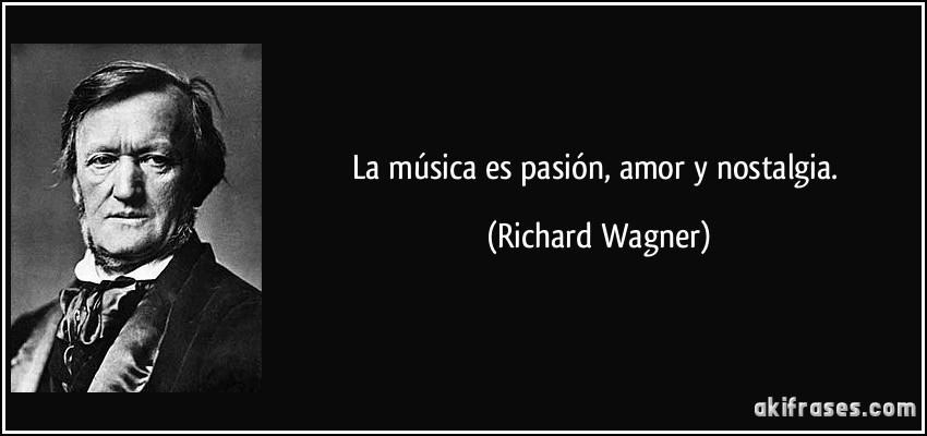 La Musica Es Pasion Amor Y Nostalgia
