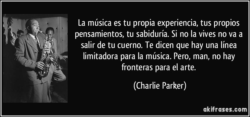 La Música Es Tu Propia Experiencia Tus Propios Pensamientos