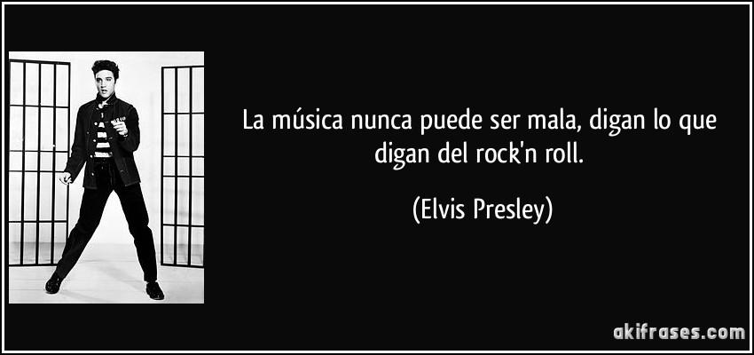 La Música Nunca Puede Ser Mala Digan Lo Que Digan Del Rockn