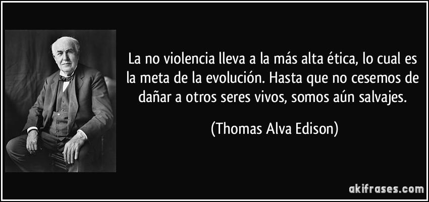 La No Violencia Lleva A La Más Alta ética Lo Cual Es La Meta