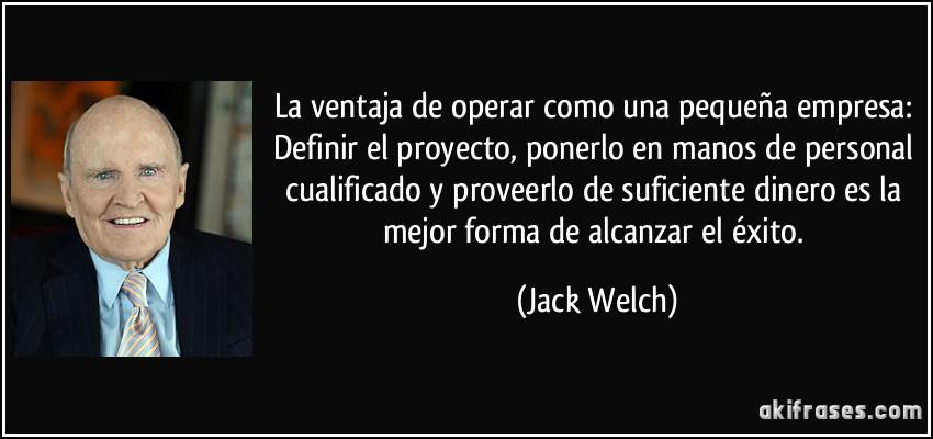 Jack welch personal essay