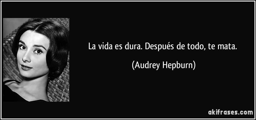 Audry hepburn la vida sexual