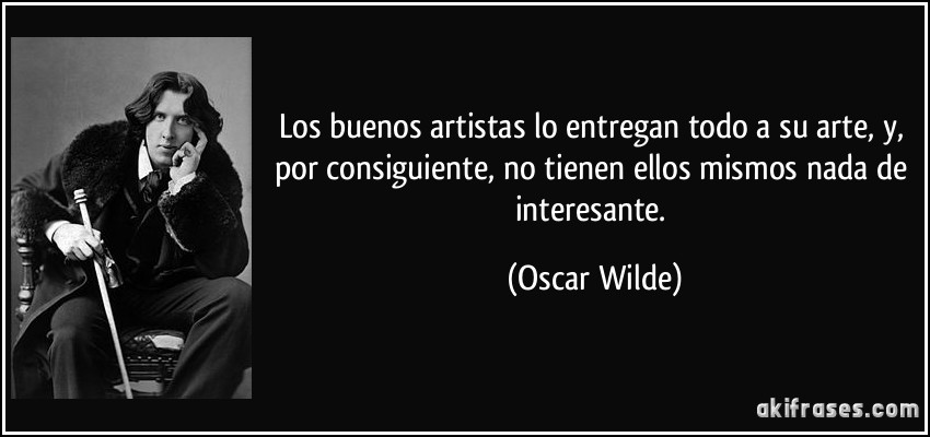 oscar wilde essay on art