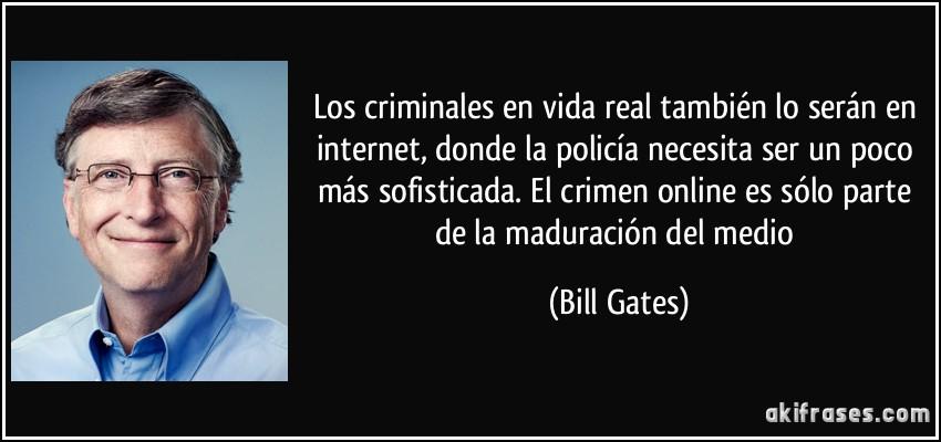 Los Criminales En Vida Real También Lo Serán En Internet
