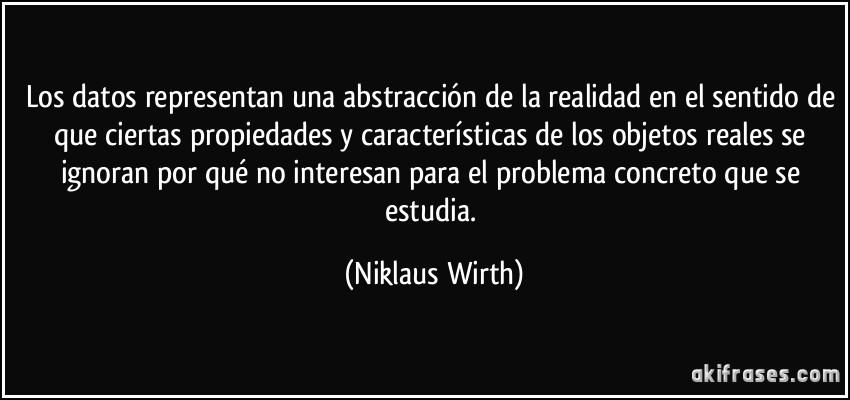 Wirth ........... Amor ..... y