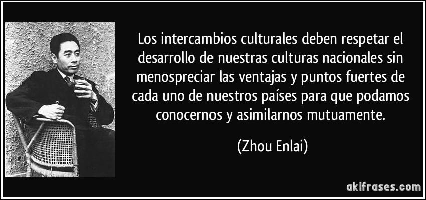 Los Intercambios Culturales Deben Respetar El Desarrollo De