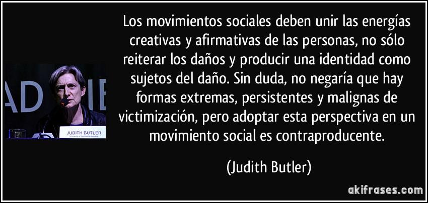 Los Movimientos Sociales Deben Unir Las Energías Creativas Y