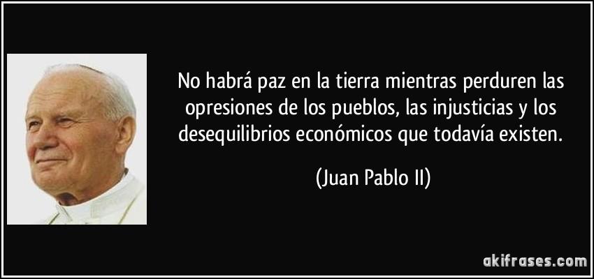 frases juan pablo ii: