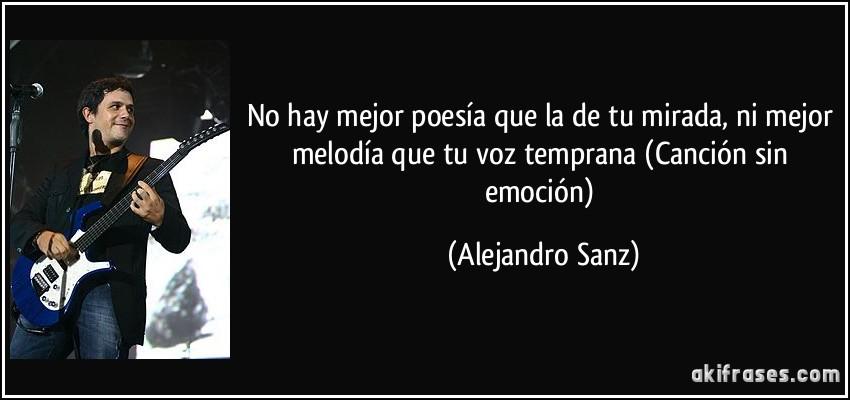 cancion sin emocion: