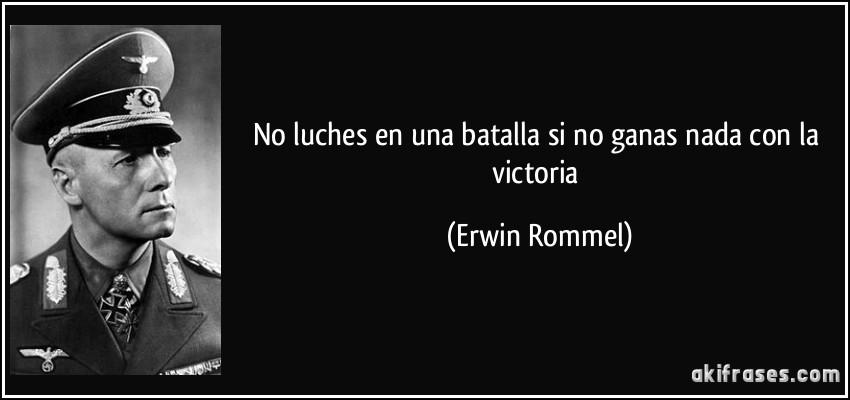 No Luches En Una Batalla Si No Ganas Nada Con La Victoria