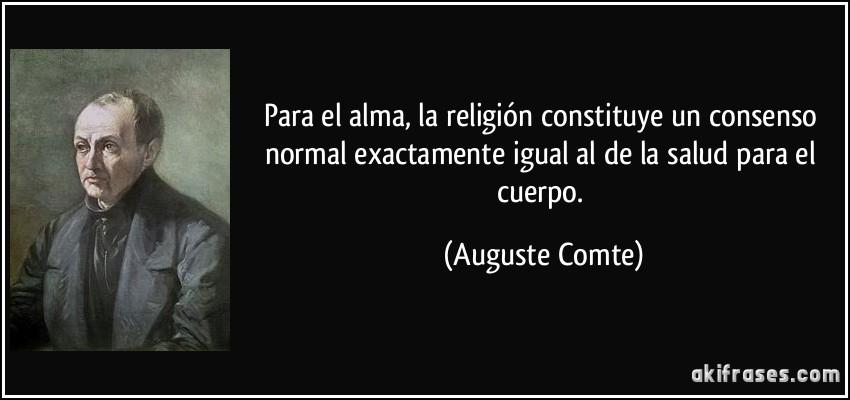Para El Alma La Religión Constituye Un Consenso Normal