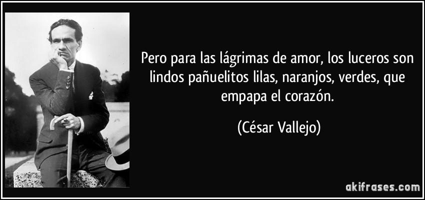 Cesar Vallejo amor