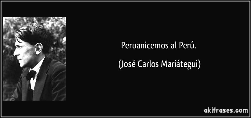 Peruanicemos al Perú.